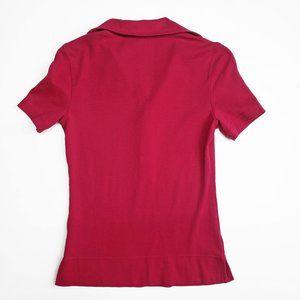 Tory Burch Tops - Tory Burch Short Sleeve Polo Lot Of 2 Pink Blue XS